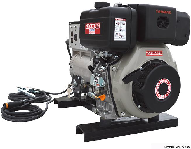 Yanmar Diesel Engine Drive Welder + Generator