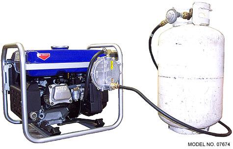 Triple fuel yamaha ef2800i inverter generator for Yamaha propane inverter generator