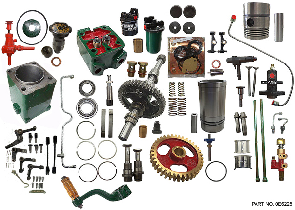 Spare Parts for Lister Diesel Engines
