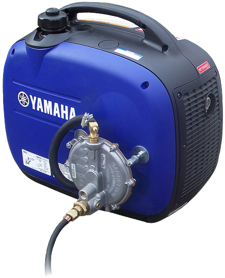 triple fuel yamaha ef2000is generator