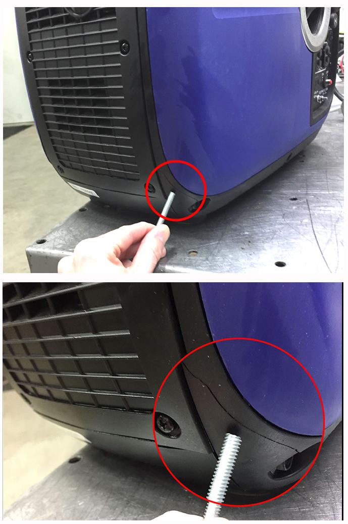 Quot Scratch Amp Dent Quot Triple Fuel Yamaha Ef2000is Generator