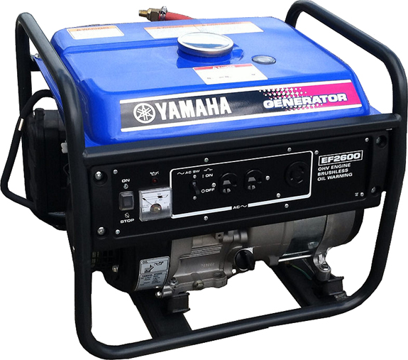 Triple fuel yamaha ef2600 generator 779 for Yamaha generator for sale