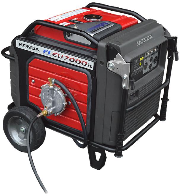 Inverter Generator with CMD Triple-Fuel System Model: Honda EU7000iS