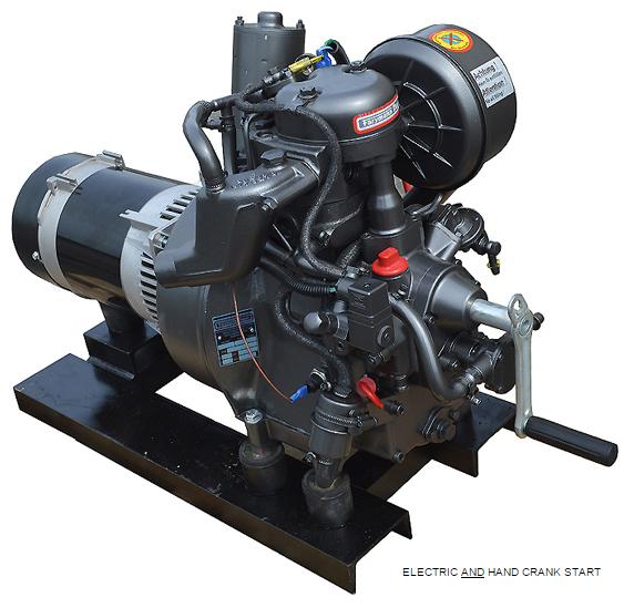 Farymann 4 3 Kw Marine Diesel Generator