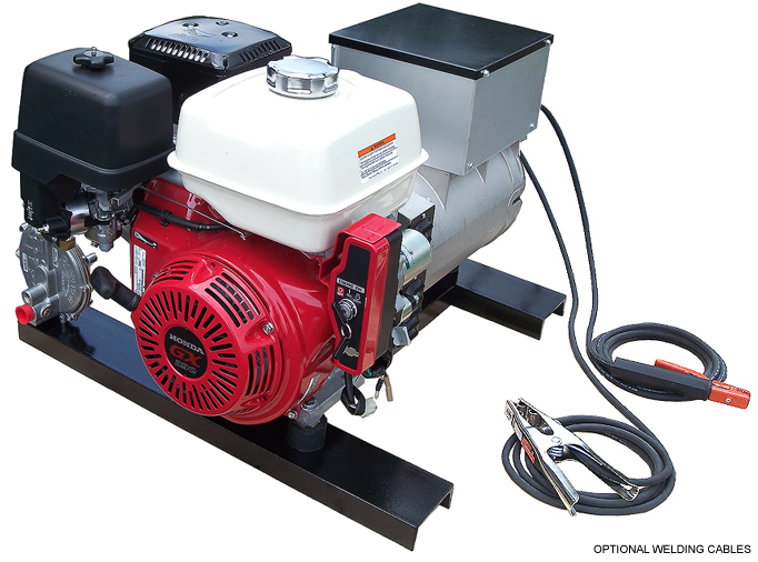 Honda Gas Engine Drive Welder Generator