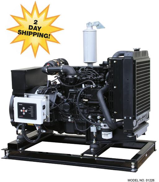 Isuzu 21 kW Diesel Generator