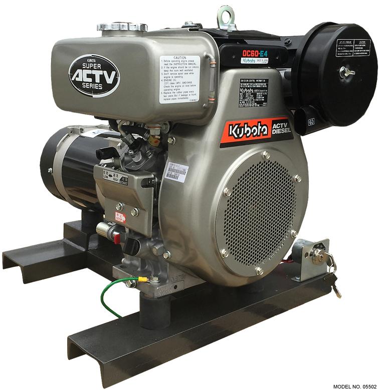 Kubota 4 500 Watt Diesel Generator