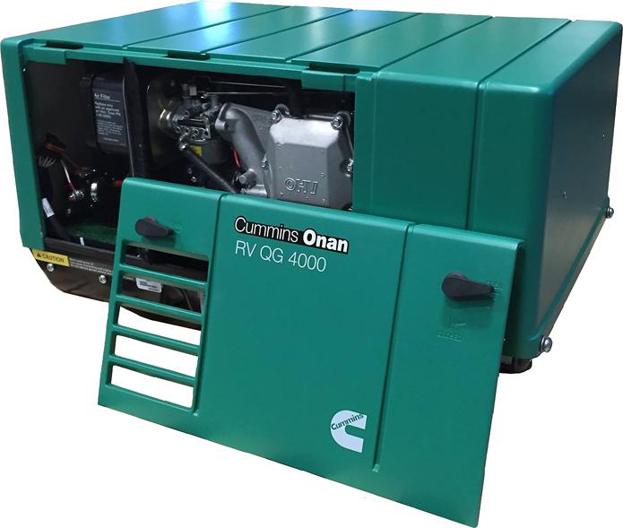 Cummins Onan Quiet Gasoline Series Rv Qg 4000 Rv Generator Set