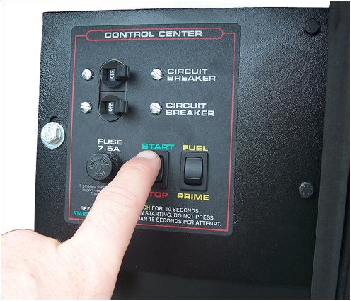 QuietPact 40G 4,000 Watt Gas RV Generator