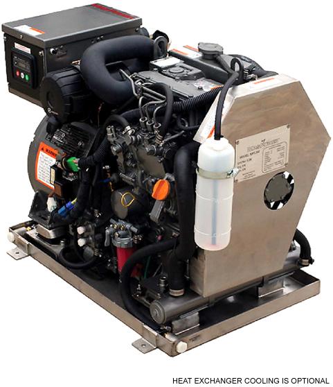 Diesel Engine Generator Cooling Seawater Block Diagram Barge 1