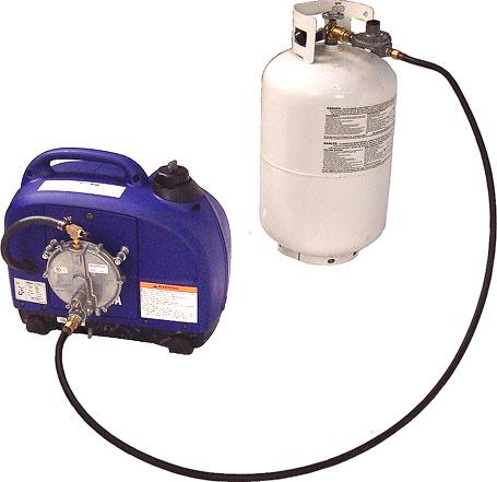 Bi fuel lp gas and natural gas yamaha ef1000is super for Yamaha propane inverter generator