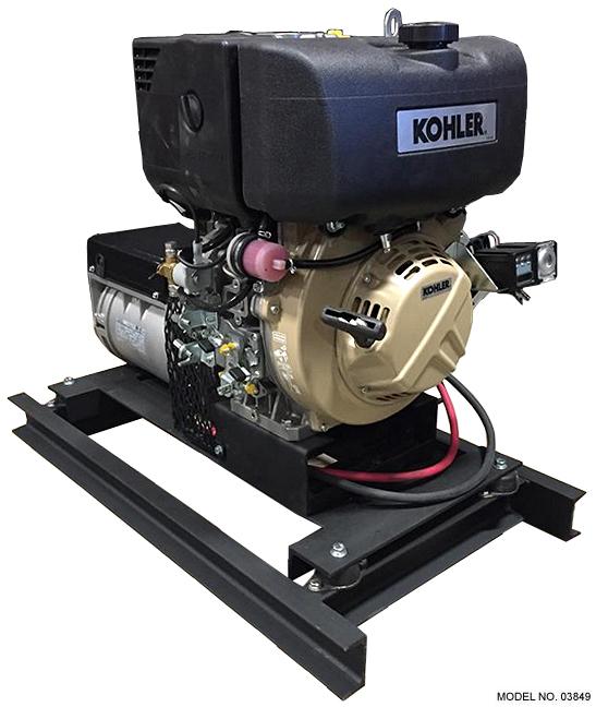 Slow-Turning 5 kW Diesel Generator