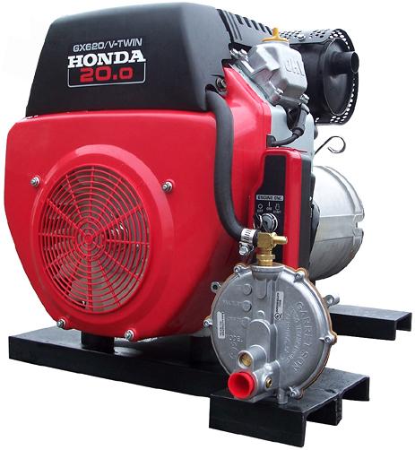 Natural Gas Motor Generator