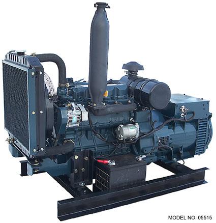 Kubota 15 kw diesel generator for Aquaclear motor unit for power filter