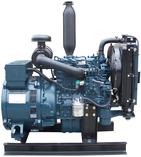 Kubota 9 875 Watt Diesel Generator