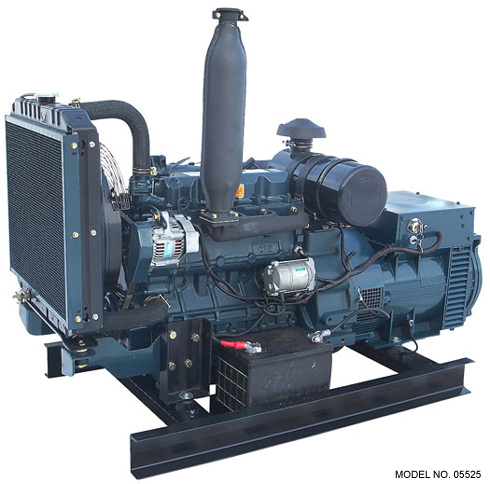 Kubota 25,000 Watt Diesel Generator