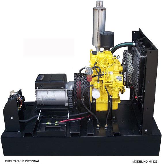 Onan 6500 Commercial Generator Wiring Diagram: Slow-Turning Perkins 6,125 Watt Diesel Generator
