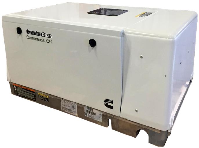 Cummins Onan Quiet Propane Series Rv Qg 5500 Rv Generator Set